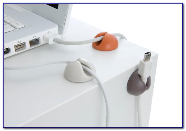 Cable Holder Desk Diy