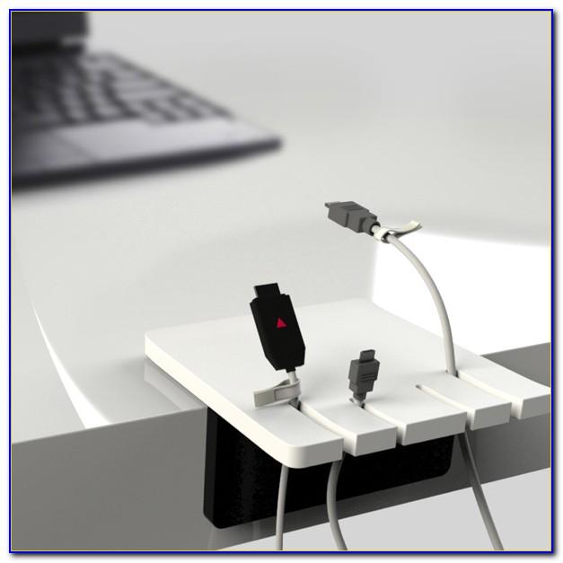 Cable Holder For Desk