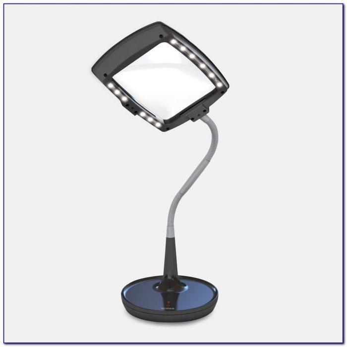 Carson 2x Led Illuminated Magnifier & Desk Lamp