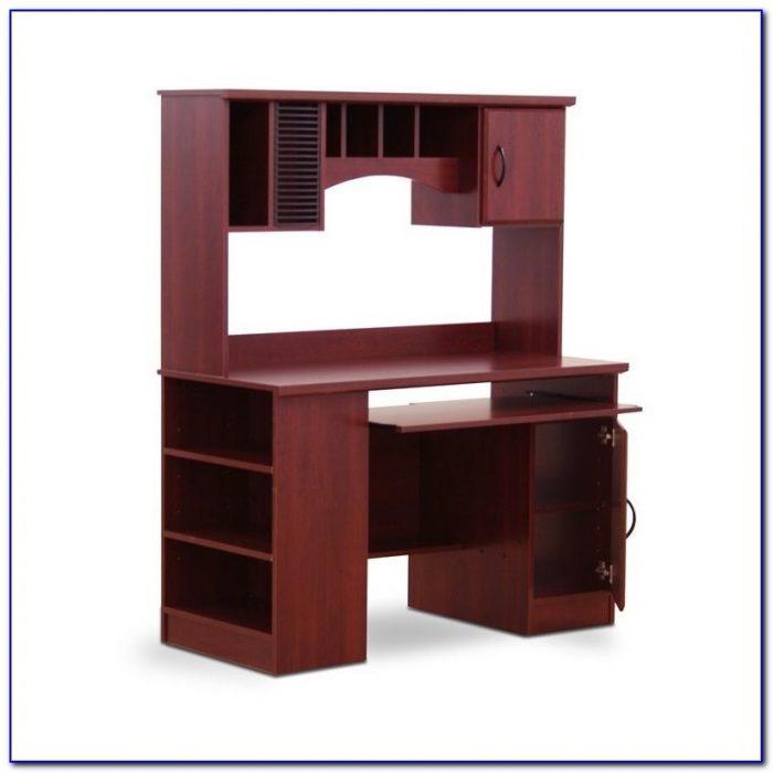 Corner l shaped office desk with hutch black and cherry desk home design ideas 6ldymlpd0e72431 - Cherry wood computer desk with hutch ...
