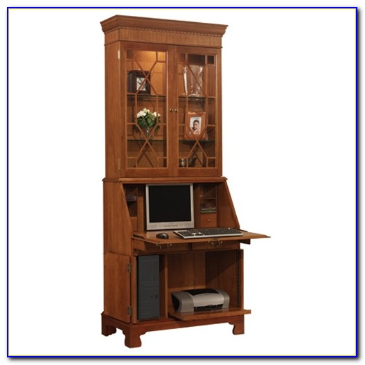 Cherry Wood Secretary Desk