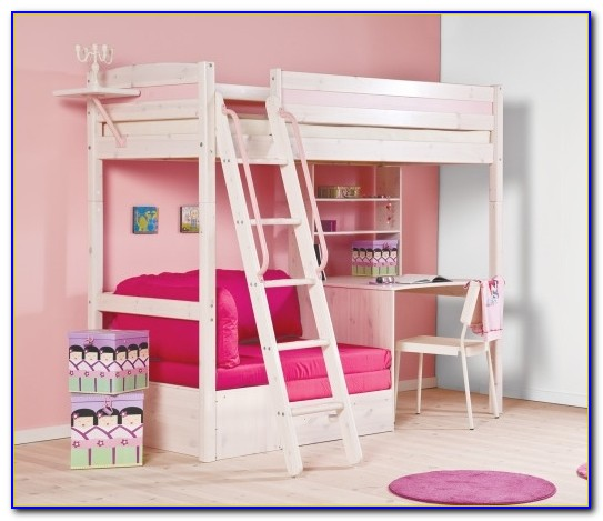 Childrens Bunk Bed With Desk