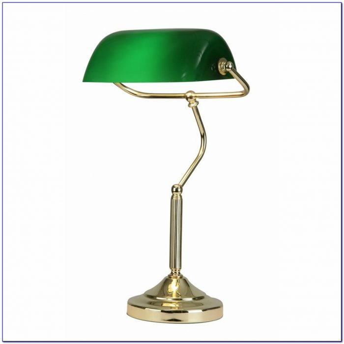 Bankers Table Lamp Green Desk Home Design Ideas