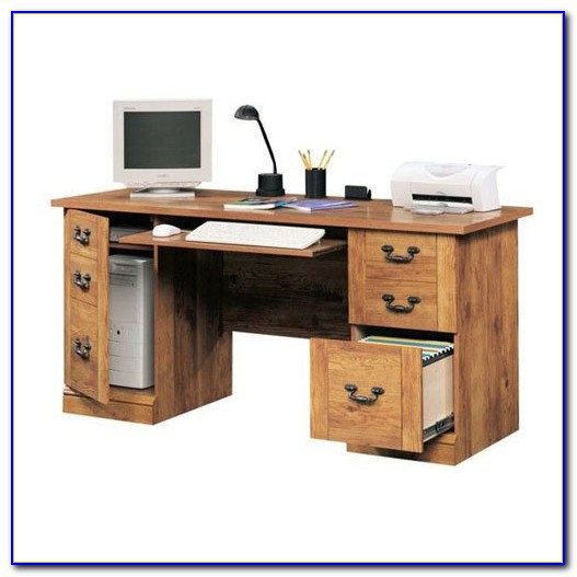 Desk With File Drawer And Hutch Desk Home Design Ideas