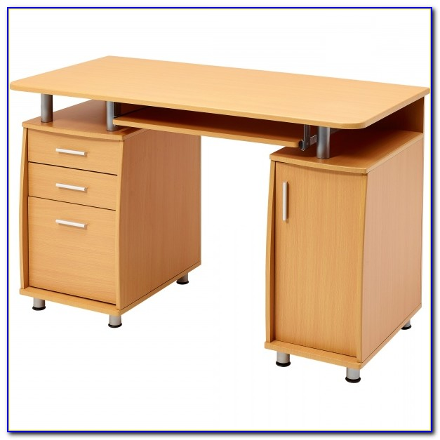 Computer Desk With Hanging File Drawer