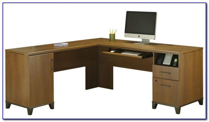 Computer Desk With Locking File Drawer