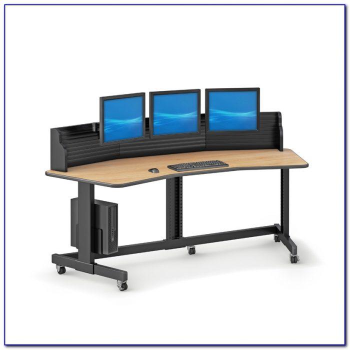 Computer Desks For Multiple Monitors