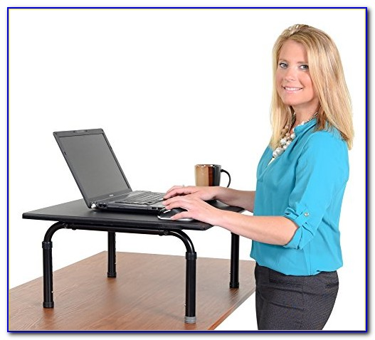 Stand Up Desk On Top Of Regular Desk Desk Home Design