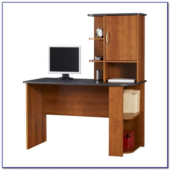 Sauder Computer Desk Planked Cherry Finish Desk Home
