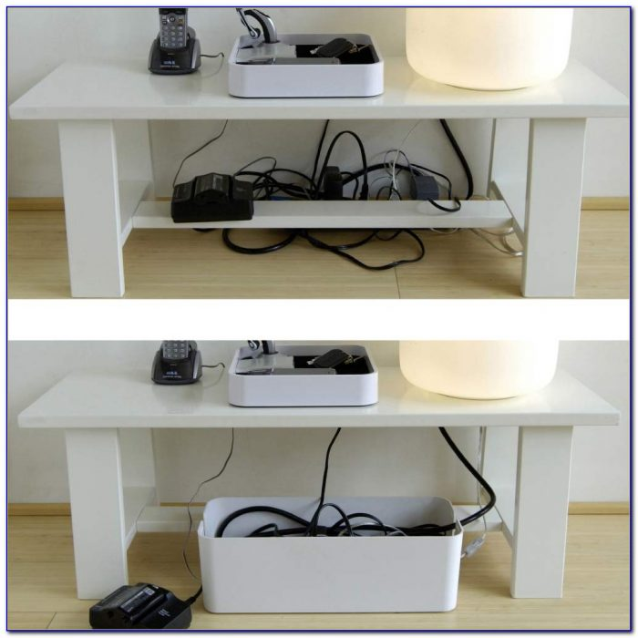 Corner Desk With Cable Management