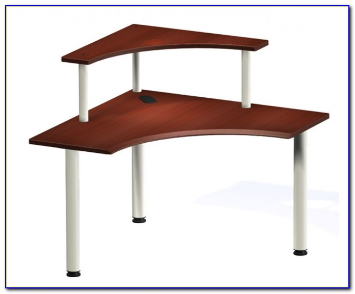 Corner Desks With Shelves