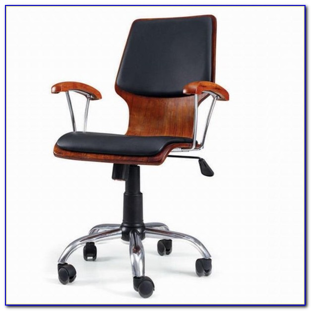 Wood Desk Chair Bankers Office Chairs Desk Home Design