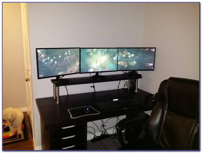 Desk For Multiple Monitors