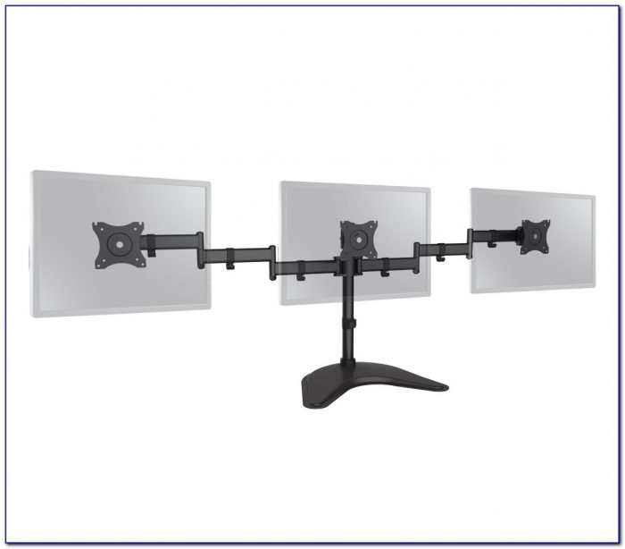 Desk Triple Monitor Mount