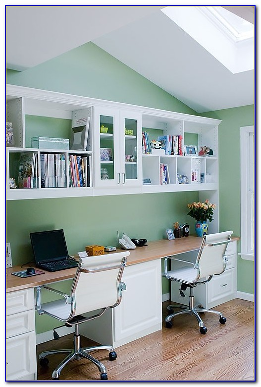 Double Sided Desk Home Office Desk Home Design Ideas