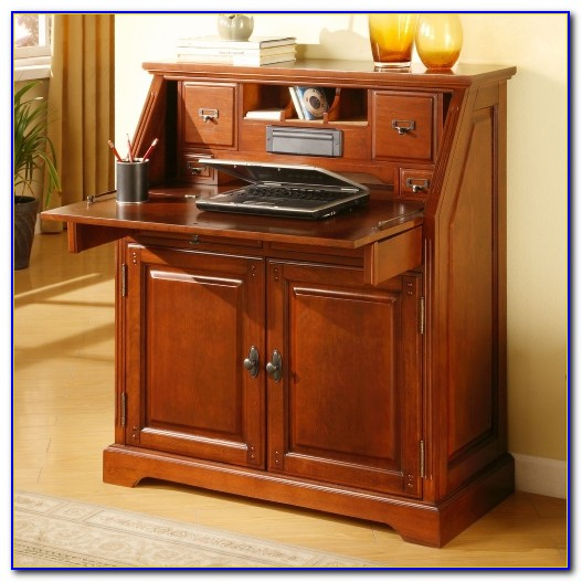 Drop Lid Secretary Desk