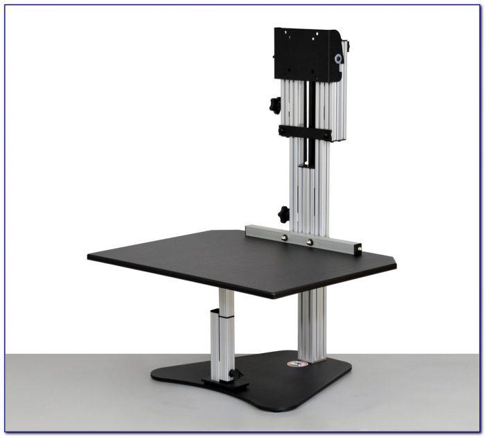 Kangaroo Standing Desk Dual Monitor Desk Home Design