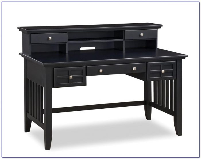 Estate Black Computer Desk With Hutch Desk Home Design