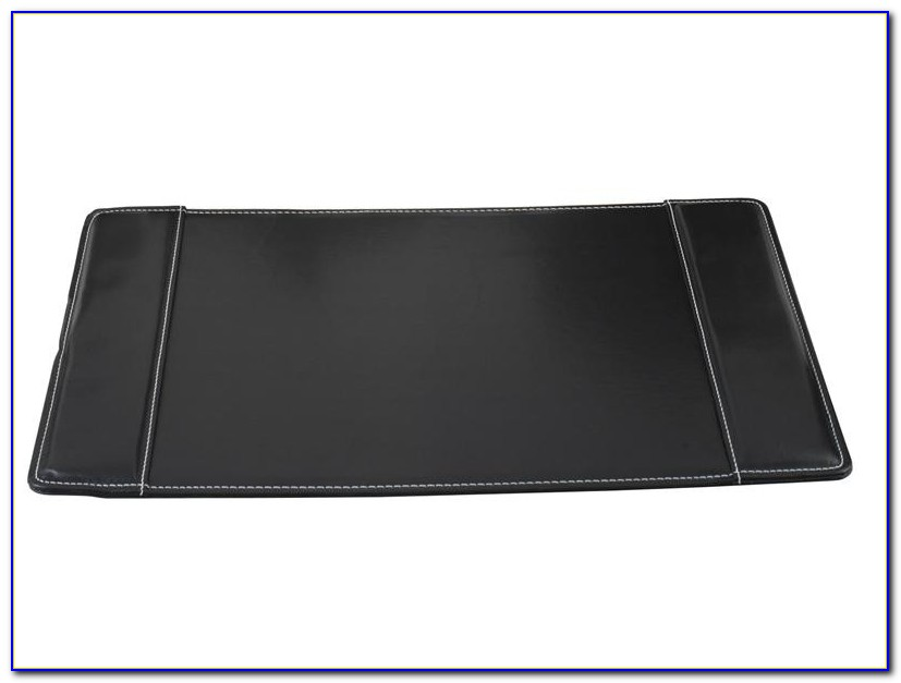 Faux Leather Desk Mat Black Home Design Ideas Kvndy7md5w80259