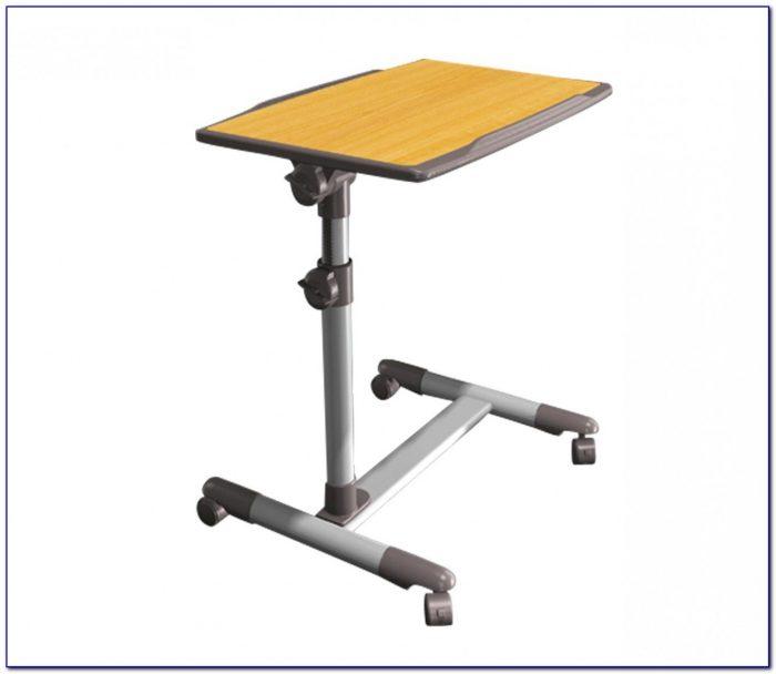Height Adjustable Mobile Laptop Desk
