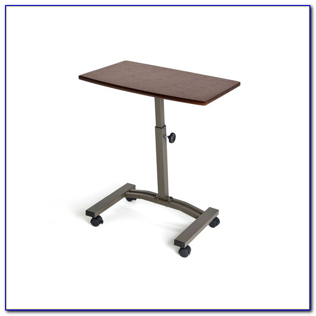 Height Adjustable Rolling Laptop Desk