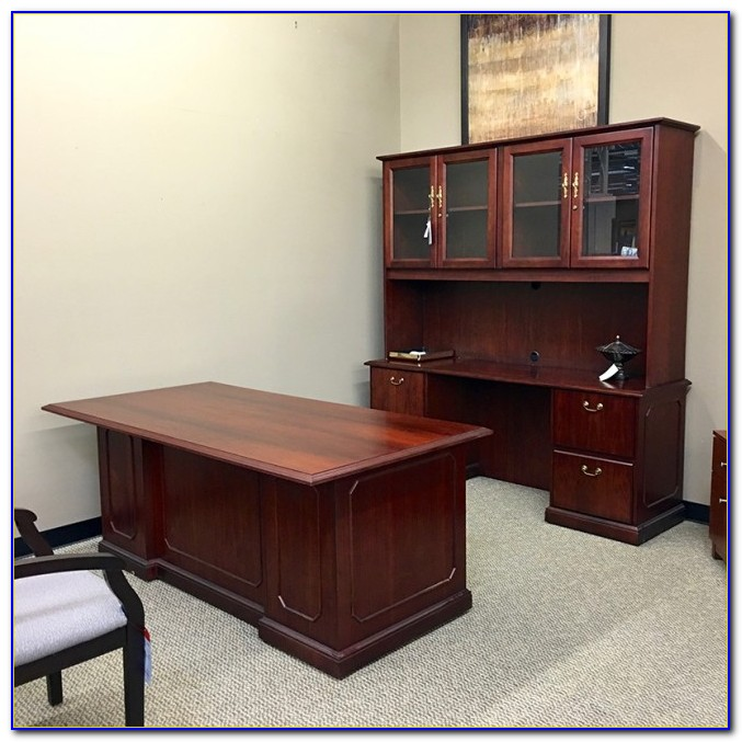 Home Office Furniture Desk And Hutch