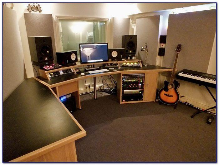 Home Recording Studio Desk Ikea Desk Home Design Ideas