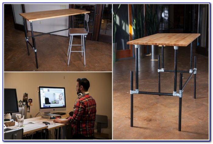 Homemade Stand Up Desk Plans