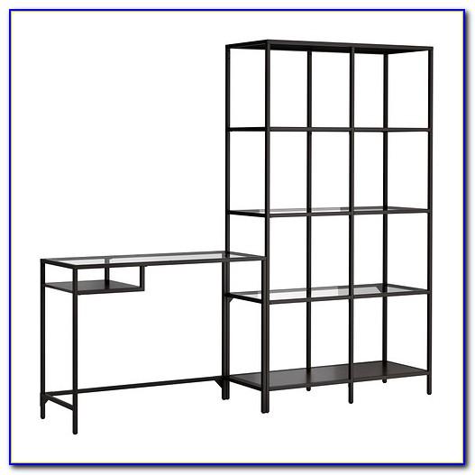 Ikea Desk With Top Shelf