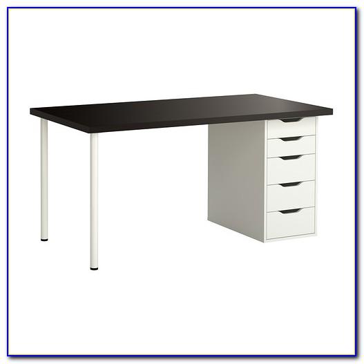 white ikea desk drawers desk home design ideas. Black Bedroom Furniture Sets. Home Design Ideas