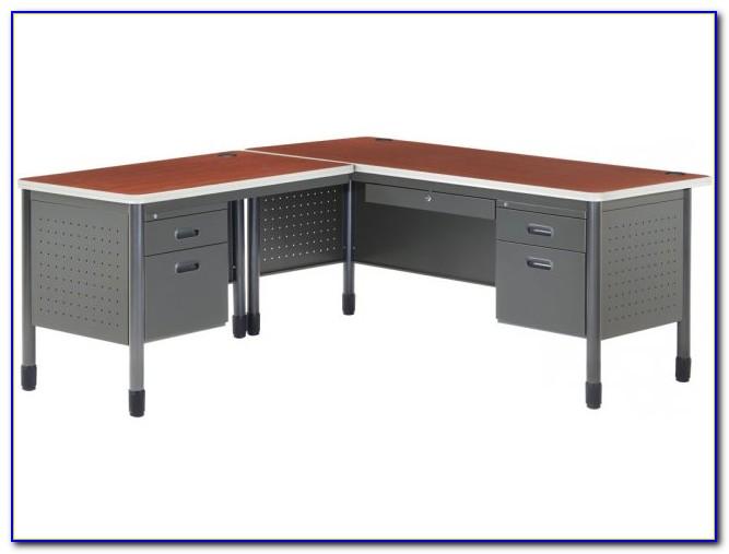 L Shaped Desk With Right Return Desk Home Design Ideas