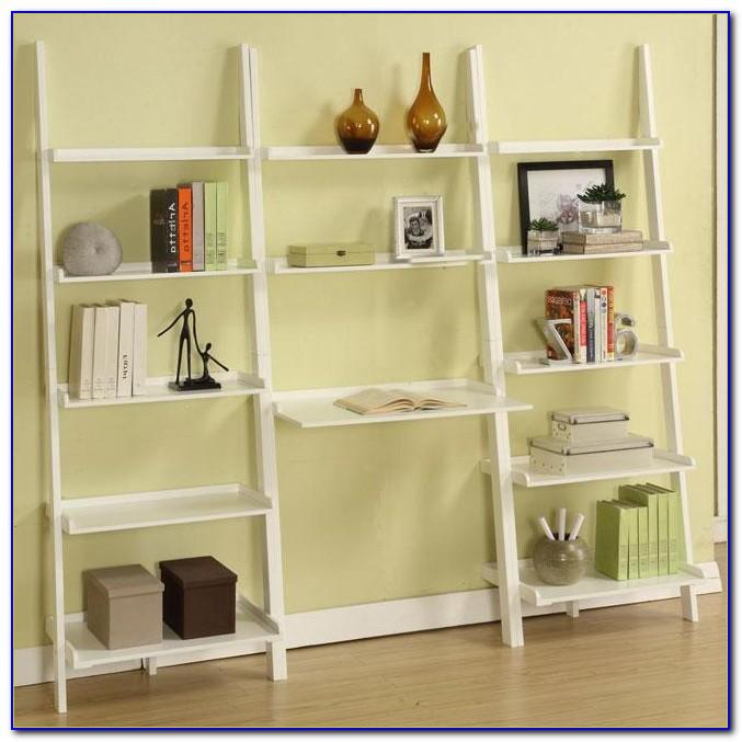Ladder Shelf Desk Diy