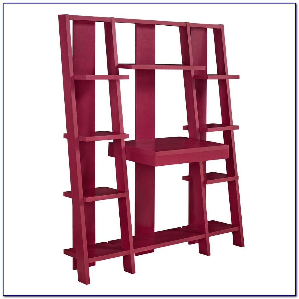 Ladder Shelf Desk Ikea Desk Home Design Ideas