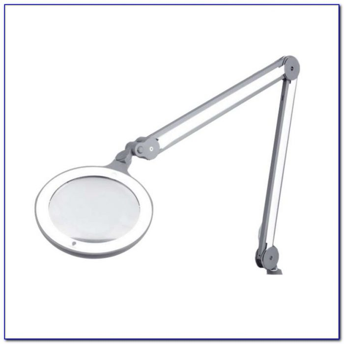 Led Lighted Desk Magnifying Lamp