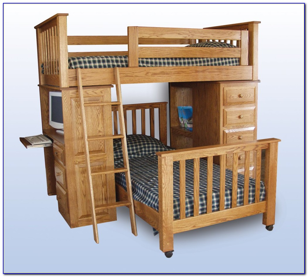 Loft Bed Dresser Desk Combo Desk Home Design Ideas