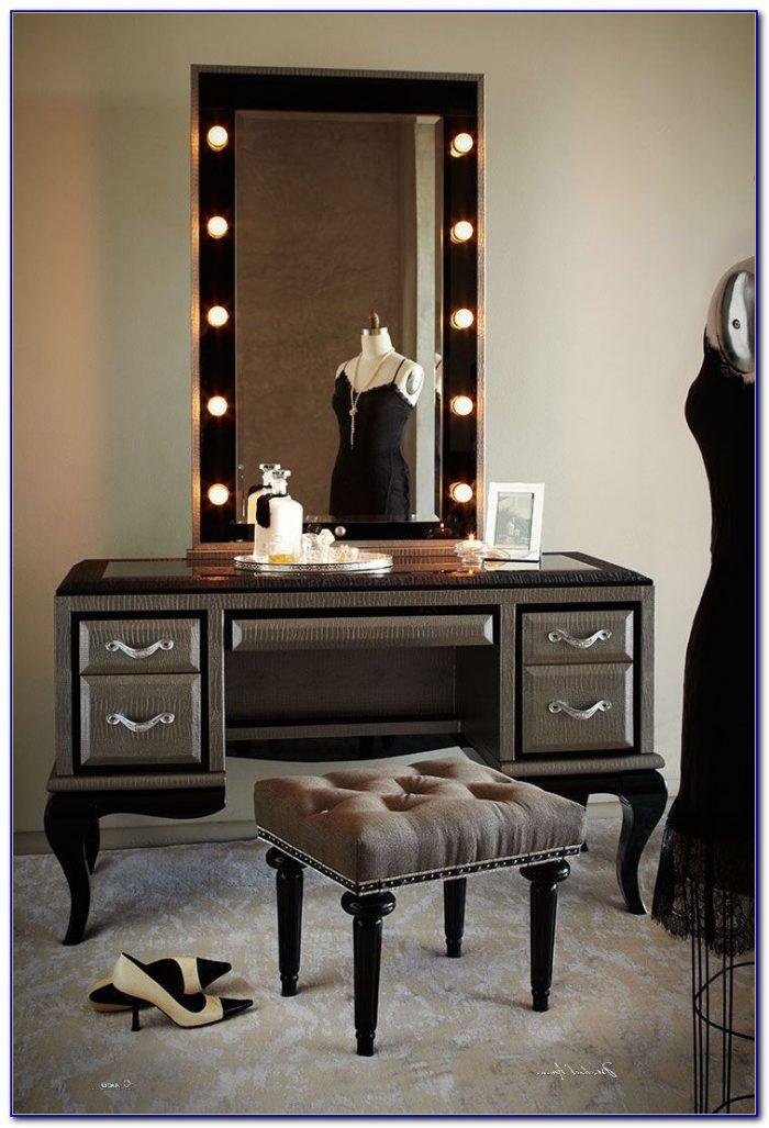 makeup vanity mirror with lights diy desk home design ideas 5onej4xd1d80126. Black Bedroom Furniture Sets. Home Design Ideas