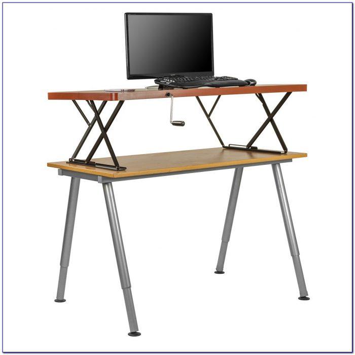 Manual Adjustable Height Desk Frame
