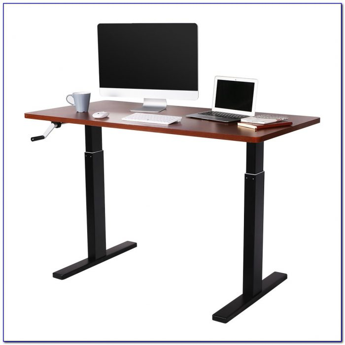 Manual Height Adjustable Desk Australia Desk Home