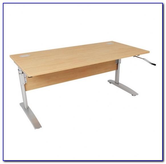 Manual Height Adjustable Standing Desk