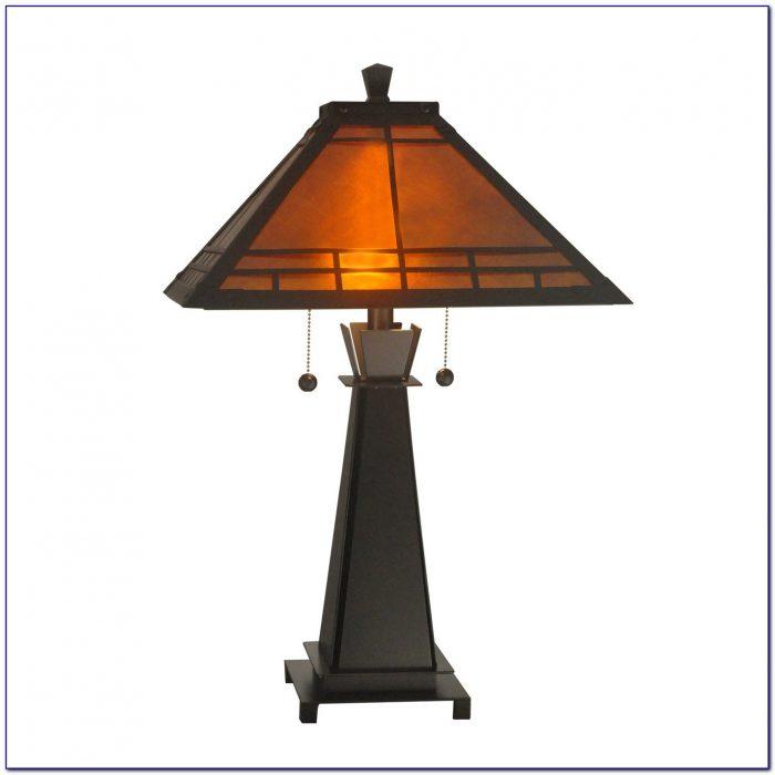 Mission Style Desk Lamps