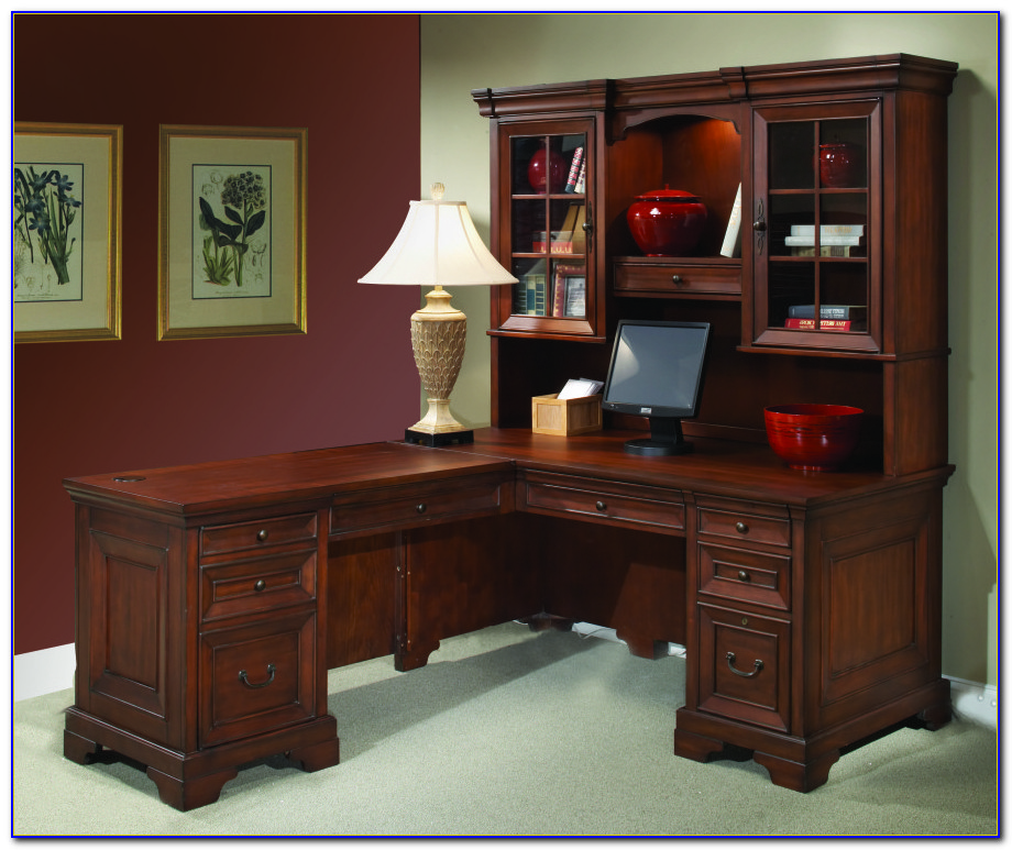 Office Depot L Shaped Desk With Hutch