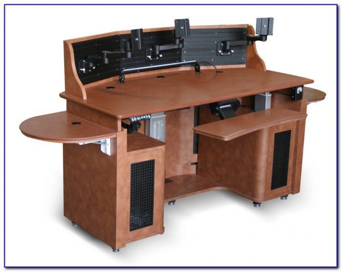 Office Desk For Multiple Monitors
