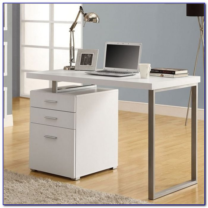 Office Desk With Filing Cabinets