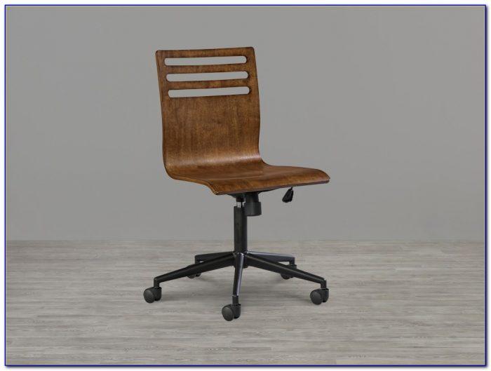 Old Oak Swivel Desk Chair