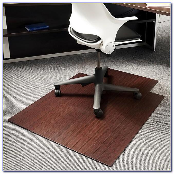 Wood Floor Desk Chair Mats Desk Home Design Ideas