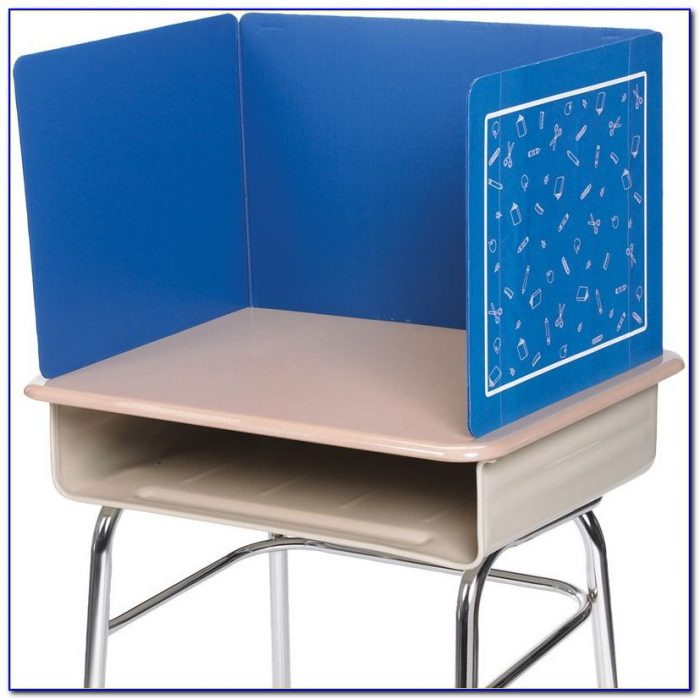 Plastic Privacy Shields For Student Desks
