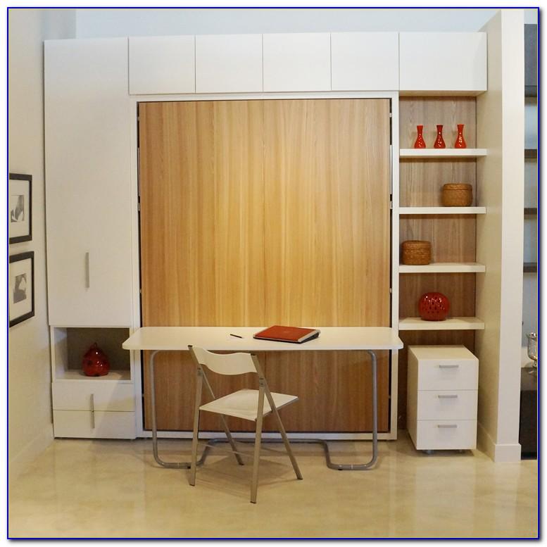 Porter Queen Wall Bed With Desk Desk Home Design Ideas