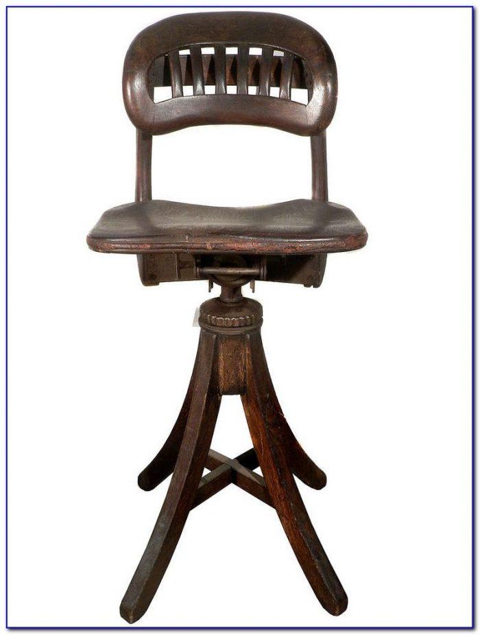 Quarter Sawn Oak Desk Chair