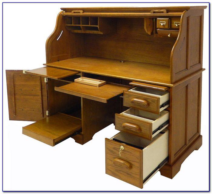 Roll Top Computer Desk Plans Desk Home Design Ideas