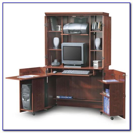 Sauder Computer Desk Armoire Audidatlevante Com